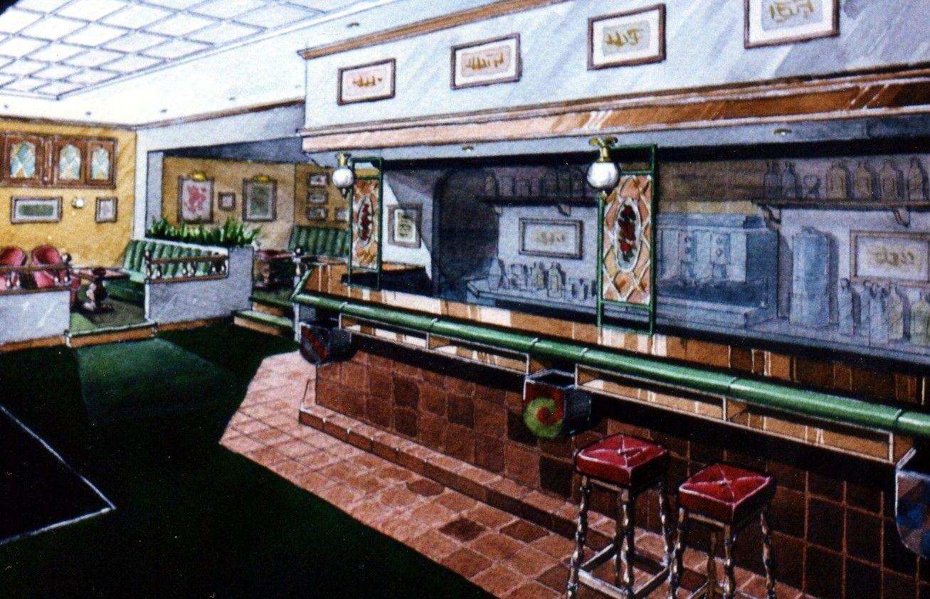 Decoraci N Proyecto De Pub Irlandes En Pozuelo Madrid  # Muebles Pub Irlandes