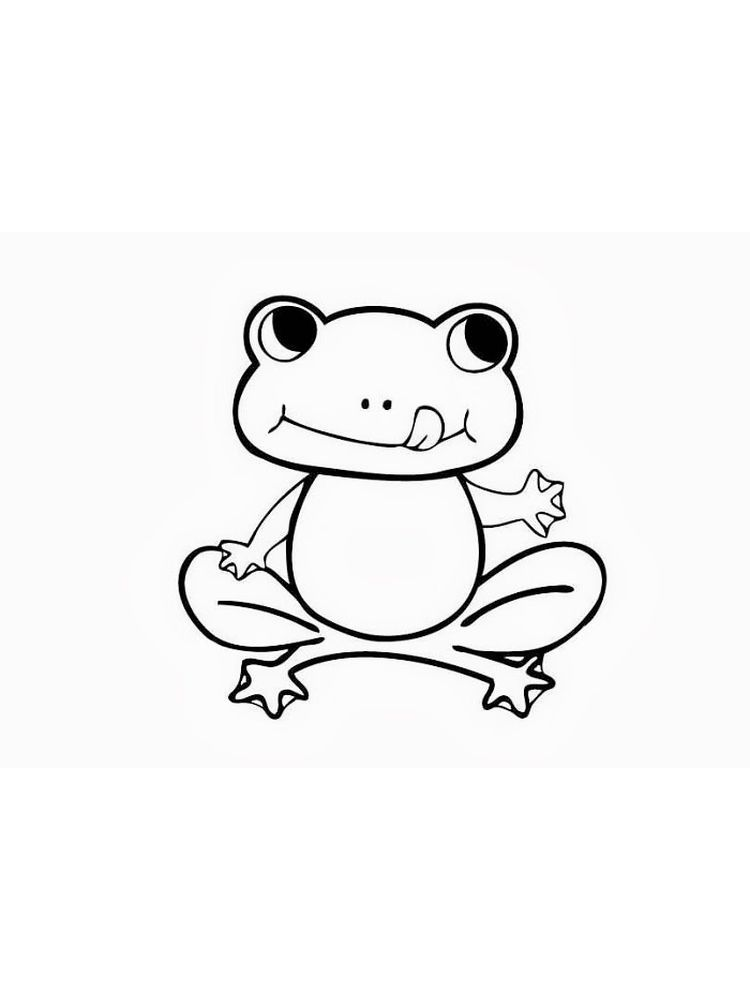 Coloring Pages Frog And Toad Below Is A Collection Of Frog Coloring Page Which You Can Download For F Coloring Pages Animal Coloring Pages Frog Coloring Pages
