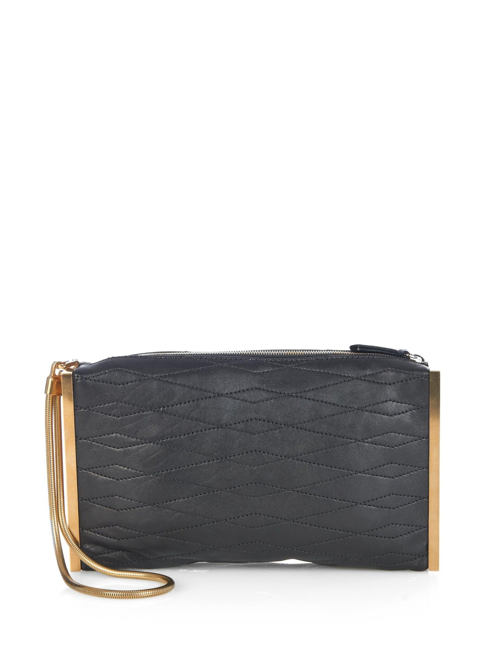 Quilted-leather clutch | Lanvin | MATCHESFASHION.COM UK
