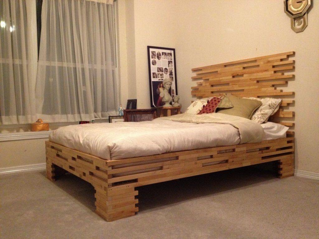 Kleinkinder Platform Ikea Hack Fur Bedikea Hack Platform Bed F In 2020 Rustic Bed Frame Bed Frame Design