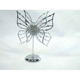 Colgador pendientes mariposa proyecto joyeros y porta joyas pinterest - Colgadores de pendientes ...