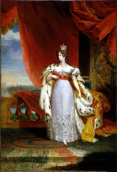 George Dawe - Empress Alexandra Feodorovna