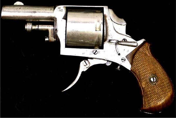 Jacques Ancion & Cie DA Folding Trigger Revolver For Sale at GunAuction.com - 13841938