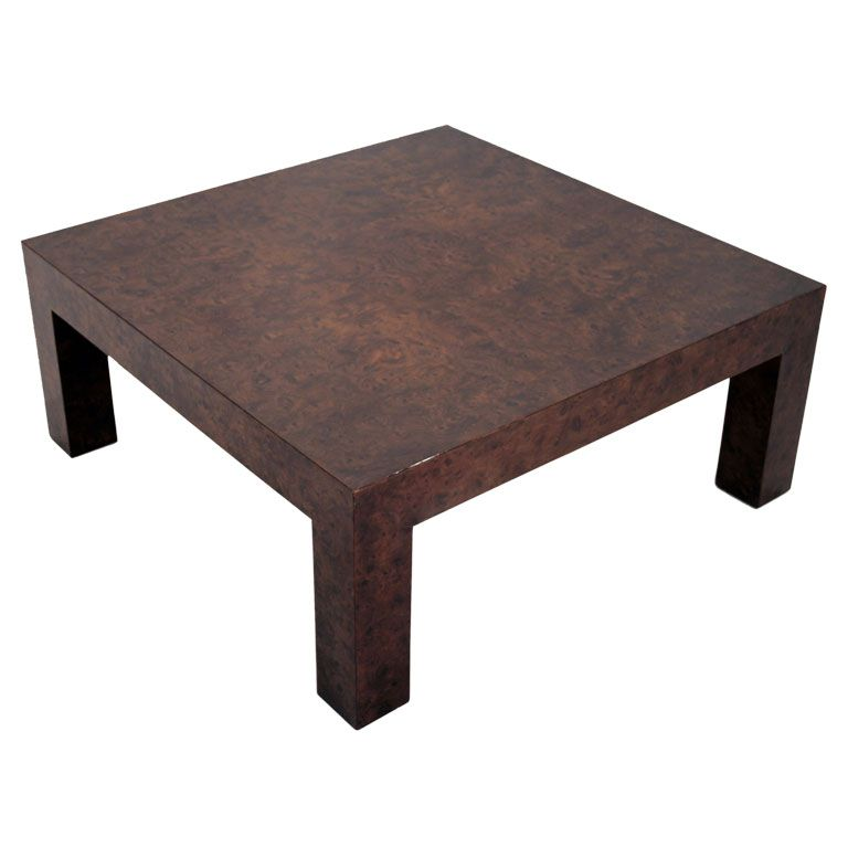 Dark Walnut Burl Coffee Table With Images Coffee Table Table