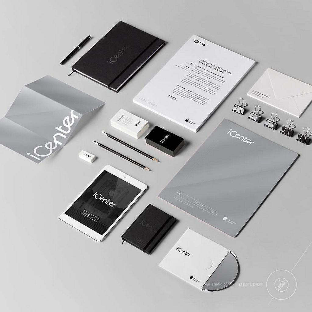 Icenter Apple Authorised Reseller Ksa براند وكيل أبل في السعودية Through Teamwork And Effort We Helped I Center To Build Strong Visual Identity Photo Studio Turntable