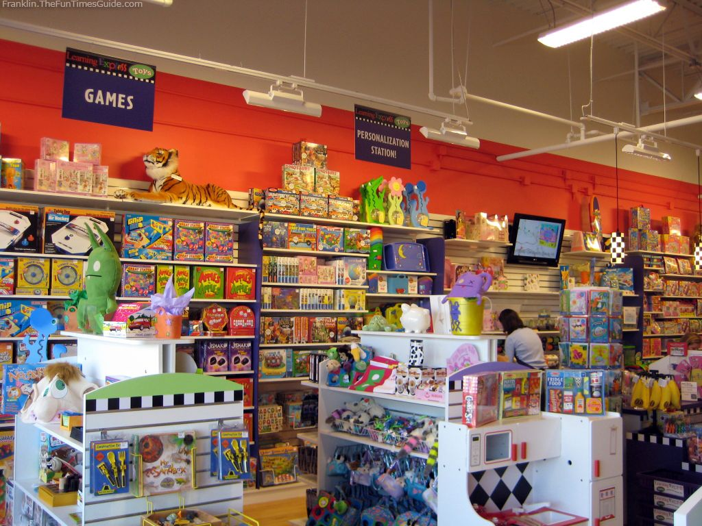Image Detail For  Look At The Store Shelves Inside Learning Express Toy  Store In .