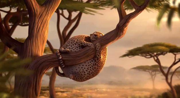 Como os animais viveriam na selva se fossem obesos?