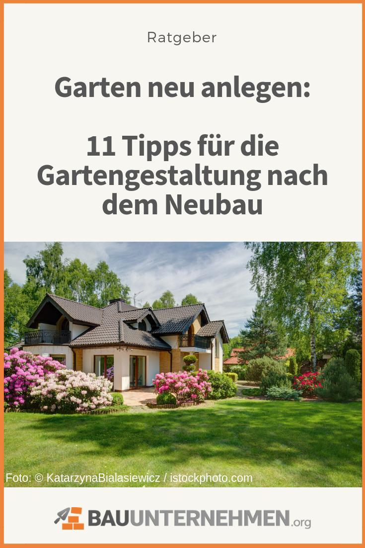 Garten neu anlegen: 11 Tipps für die Gartengestaltung nach ...