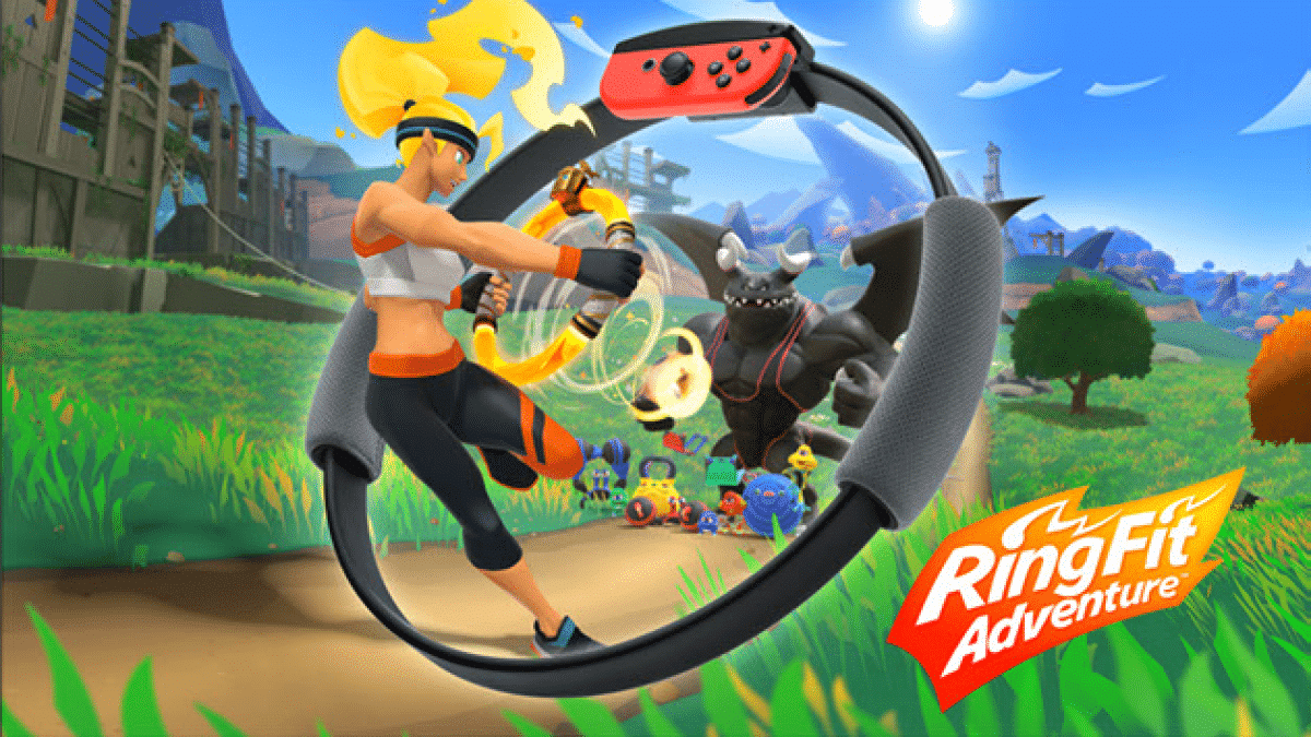 Ring Fit Adventure A Nintendo Workout Nintendo Switch News