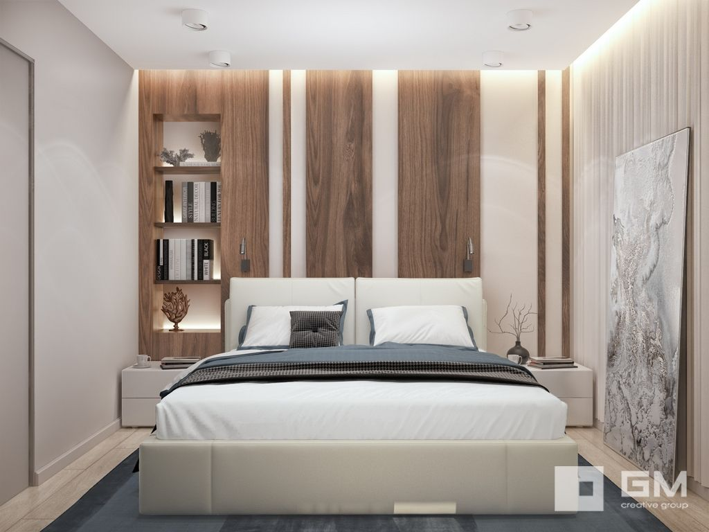Pin By Ericksen Design Llc On Spalnya Modern Bedroom Bed Design Modern Loft Design Bedroom