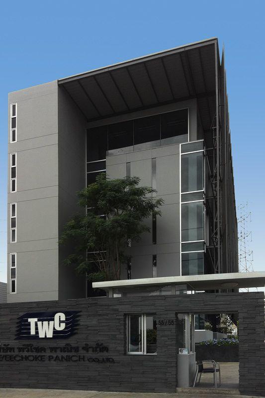 TWC Headquarter 2007 - 2011  5 storey Office Building Srinakarin road   Bangkok - See more at: http://www.quatrearchitect.com/project/twc-headquarter/#sthash.uRko9i5q.dpuf