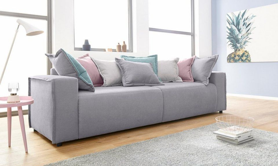 Inosign Big Sofa Gina Inklusive Wendekissen Living Sofa