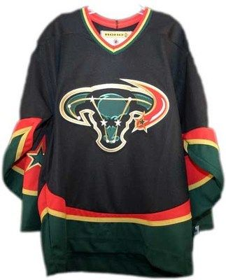 The Dallas Stars wanted this to look like Taurus the Bull. While I won t  say what it really looks like 186144d57