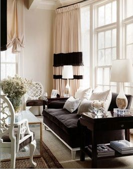 Chocolate Brown Couches With Fresh White Pillows I Need To Brighten Up Our Room