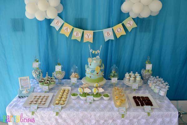 Ideas originales para preparar la decoraci n de un bautizo - Ideas originales para un cumpleanos ...