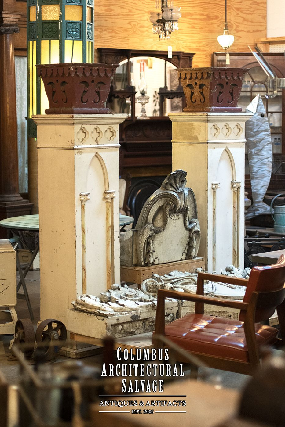 Large Gothic Pedestal In 2020 Architectural Salvage