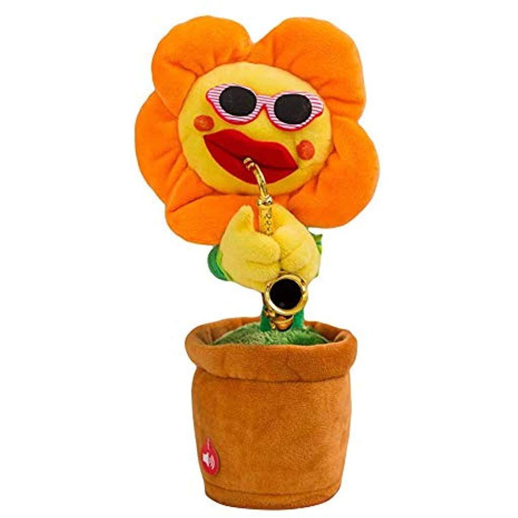 Ianqazwibvd Uk Bezaubernde Sonnenblume Singende Tanzende Blume Mit