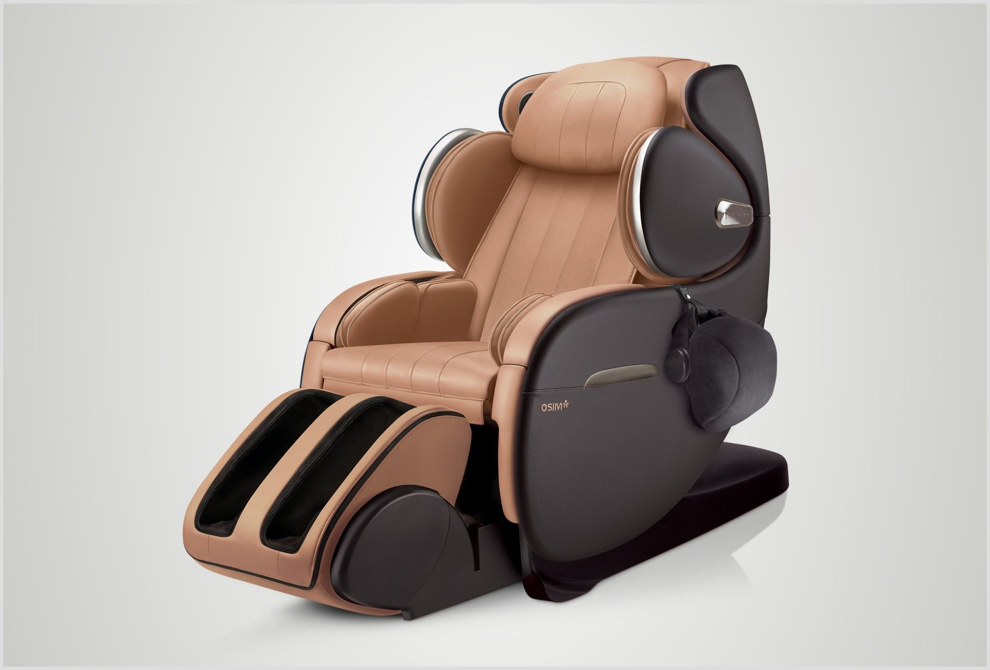 uInfinity Luxe Massage chair, Massage chairs, Back massager