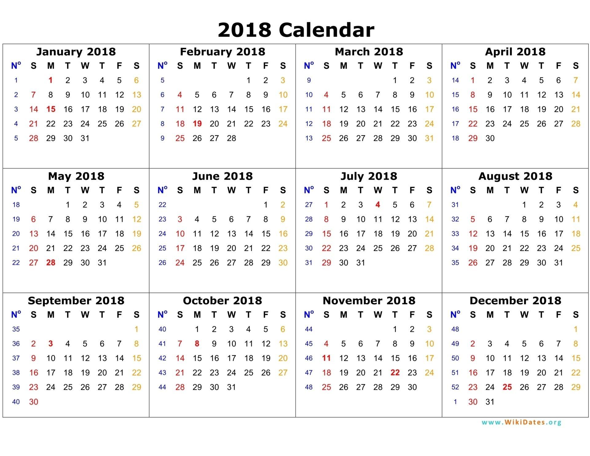 Gregorian Calendar 2022.Remarkable Printable Gregorian Calendar With Week Numbers 12 Month Calendar Printable Print Calendar 2018 Calendar Template