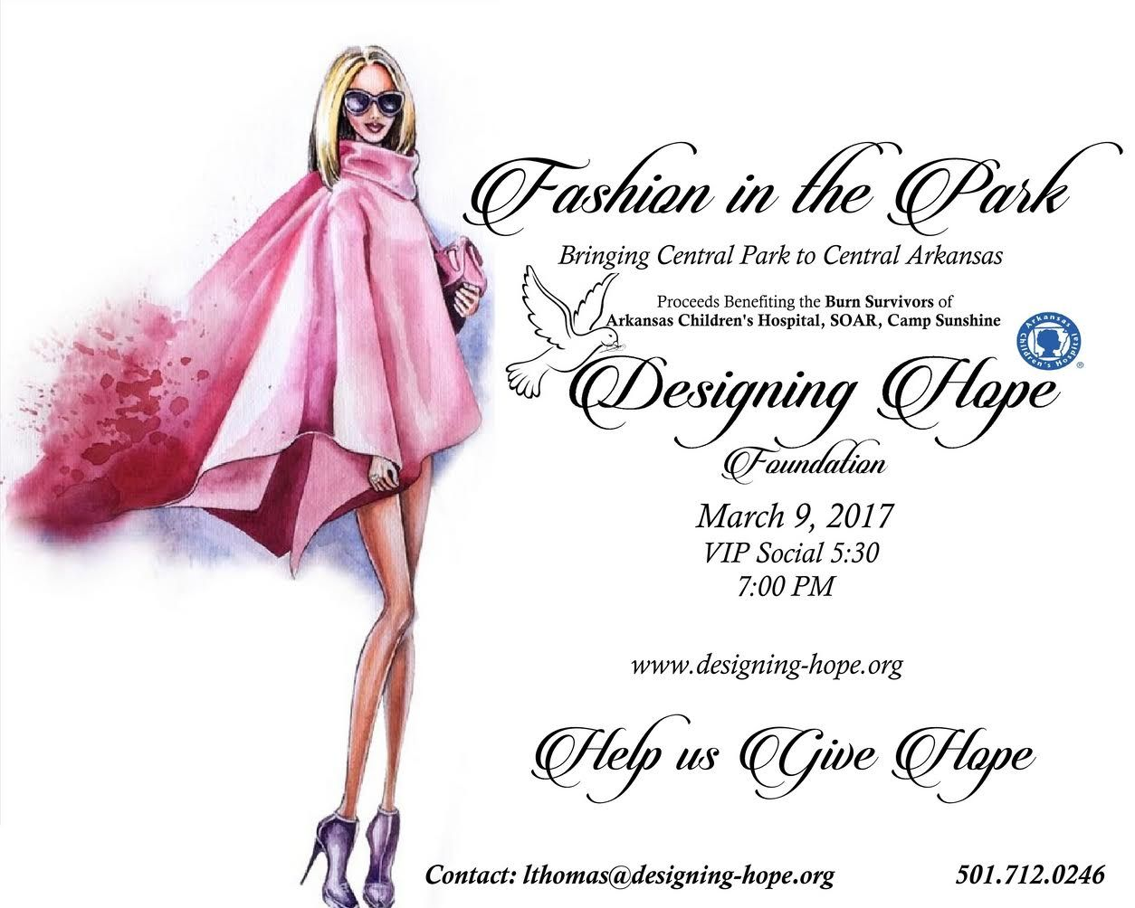Please join us for such a great cause. Our Senior League girls are going to be modeling her new line for Teens.