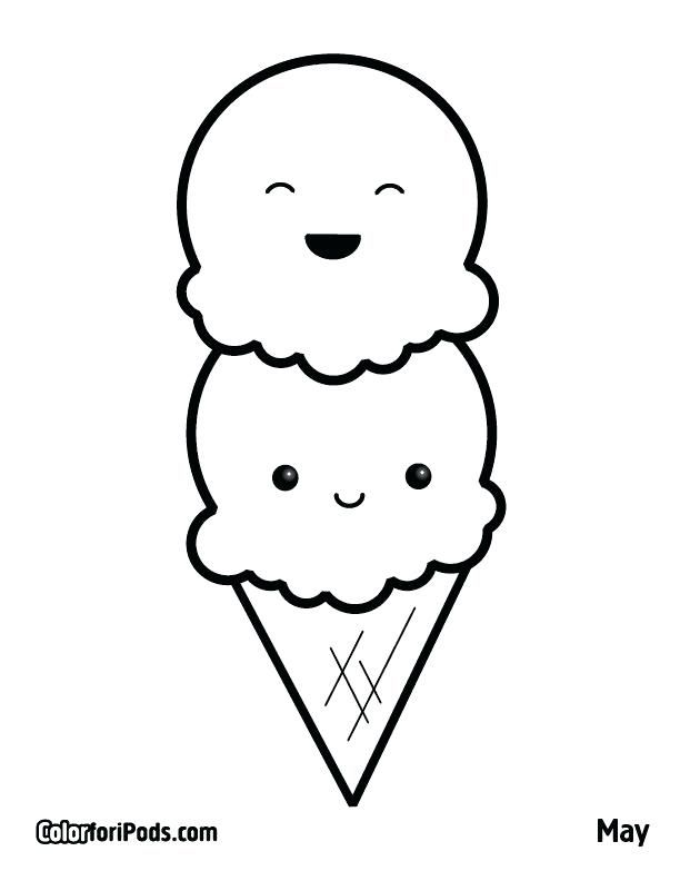 Kid Coloring Pages With Ice Cream Coloring Page Coloring Pages Printable Coloring Book Ideas Galler Ice Cream Coloring Pages Cute Coloring Pages Coloring Books