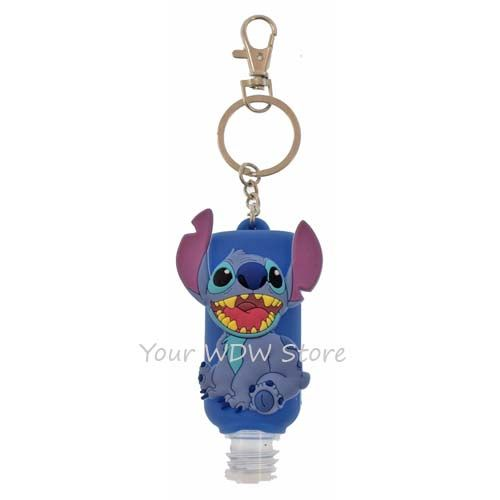 Disney Hand Sanitizer Keychain Stitch Disney Keychain Hand