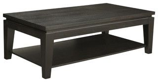 Asia Rectangle Coffee Table - contemporary - coffee tables - by Inmod