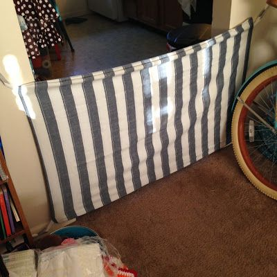 Fabric Diy Baby Gate Super Cheap And Easy Wider Than Regular