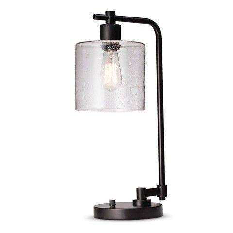 Threshold™ Seeded Glass Edison Table Lamp