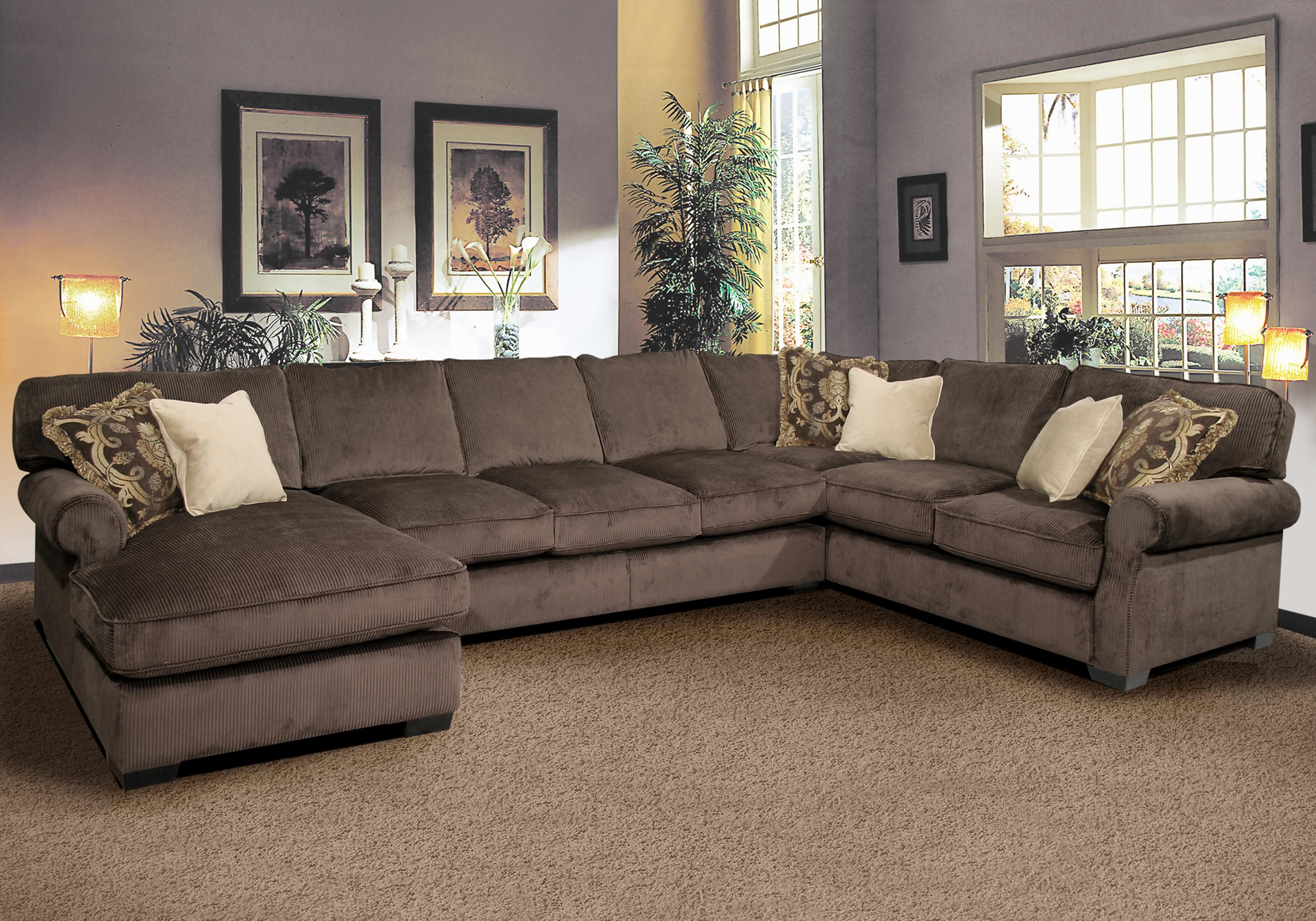 Grand Island 7 Seat Sectional Sofa By Fairmont Seating Home