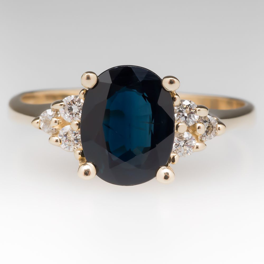 later princess stone features center rings ring inspired royal com deep the diana this by a engagement middleton sapphire and famous kate worn blue custommade