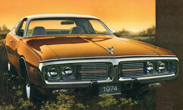 1974 Dodge Charger - the last of real Chargers - http://carswithmuscles.com/1974-dodge-charger/