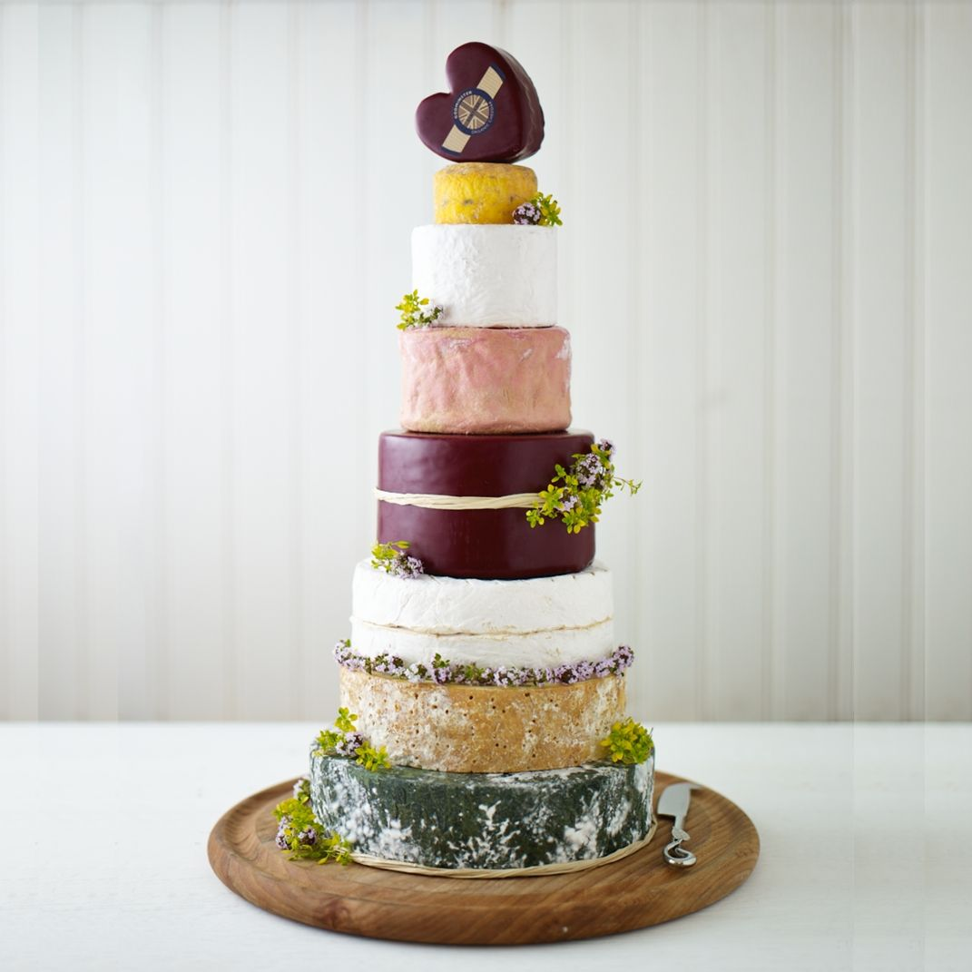 Godminster Vintage: A Wedding and Celebration Cheese Cake | Wedding ...