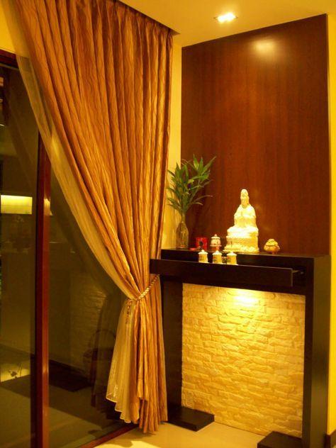 Image result for modern chinese altar design   Storage ideas ...