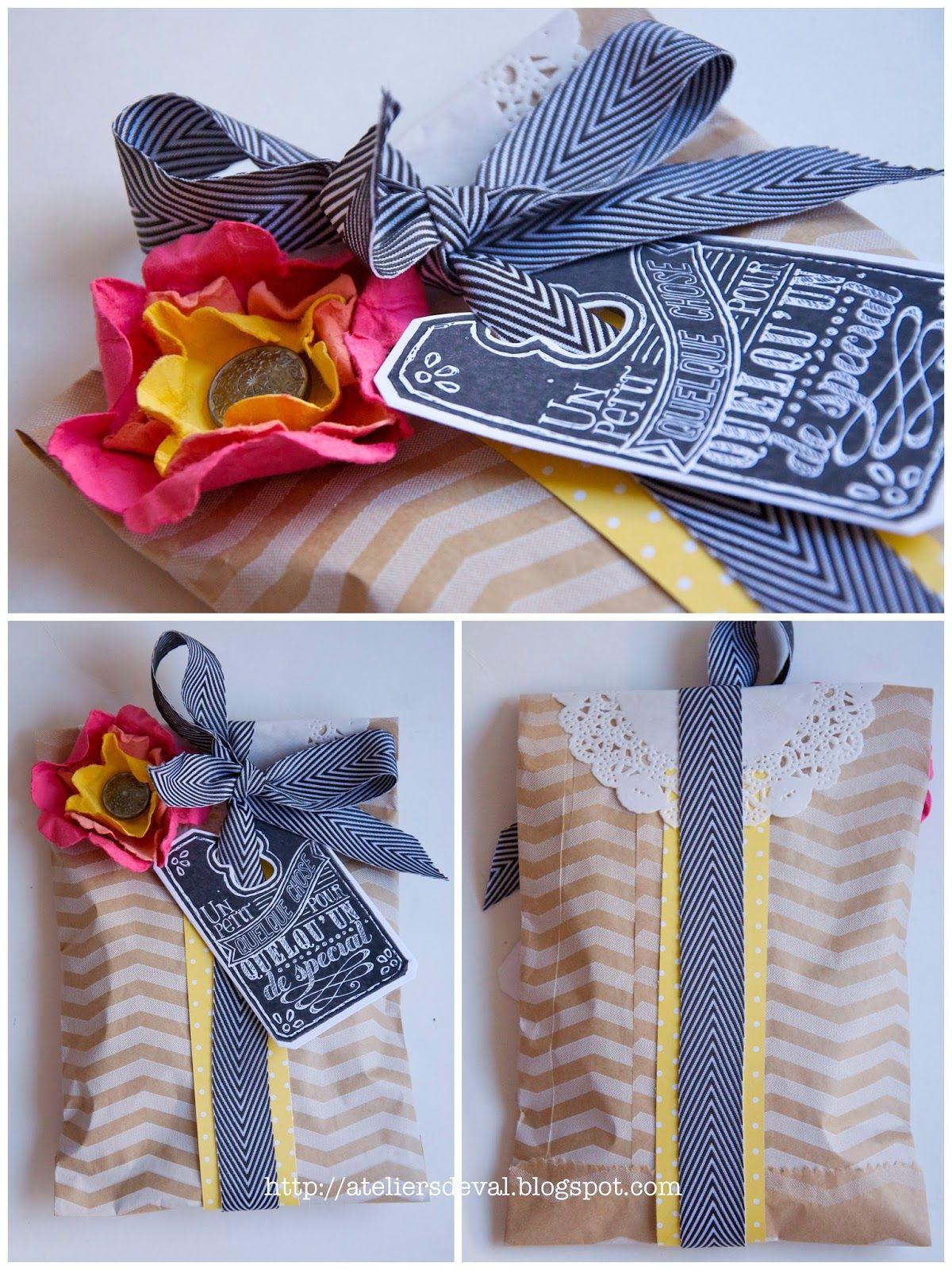Les Ateliers de Val: Sachet cadeau | (Geschenk-) Verpackungen ...