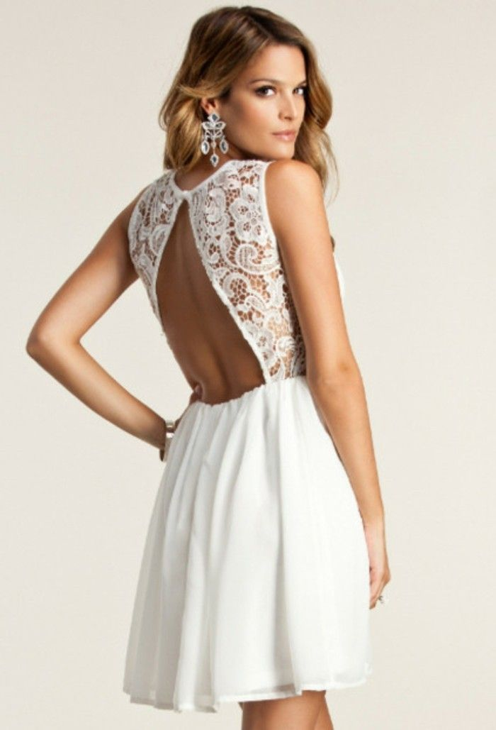 105 verblüffende Ideen für weißes Kleid! | Pinterest | Weiß blond ...