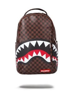 Sprayground-Backpack-LV-Sharks-In-Paris-Bag-Damier-Louis-Vuitton-Checker-NEW aca021f2f57f1