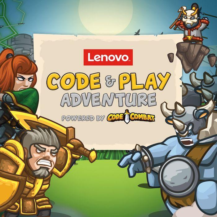 lenovo game state, lenovo games, computer games for kids, online games for kids, coding games for kids, coding for kids, STEM learning, code and play