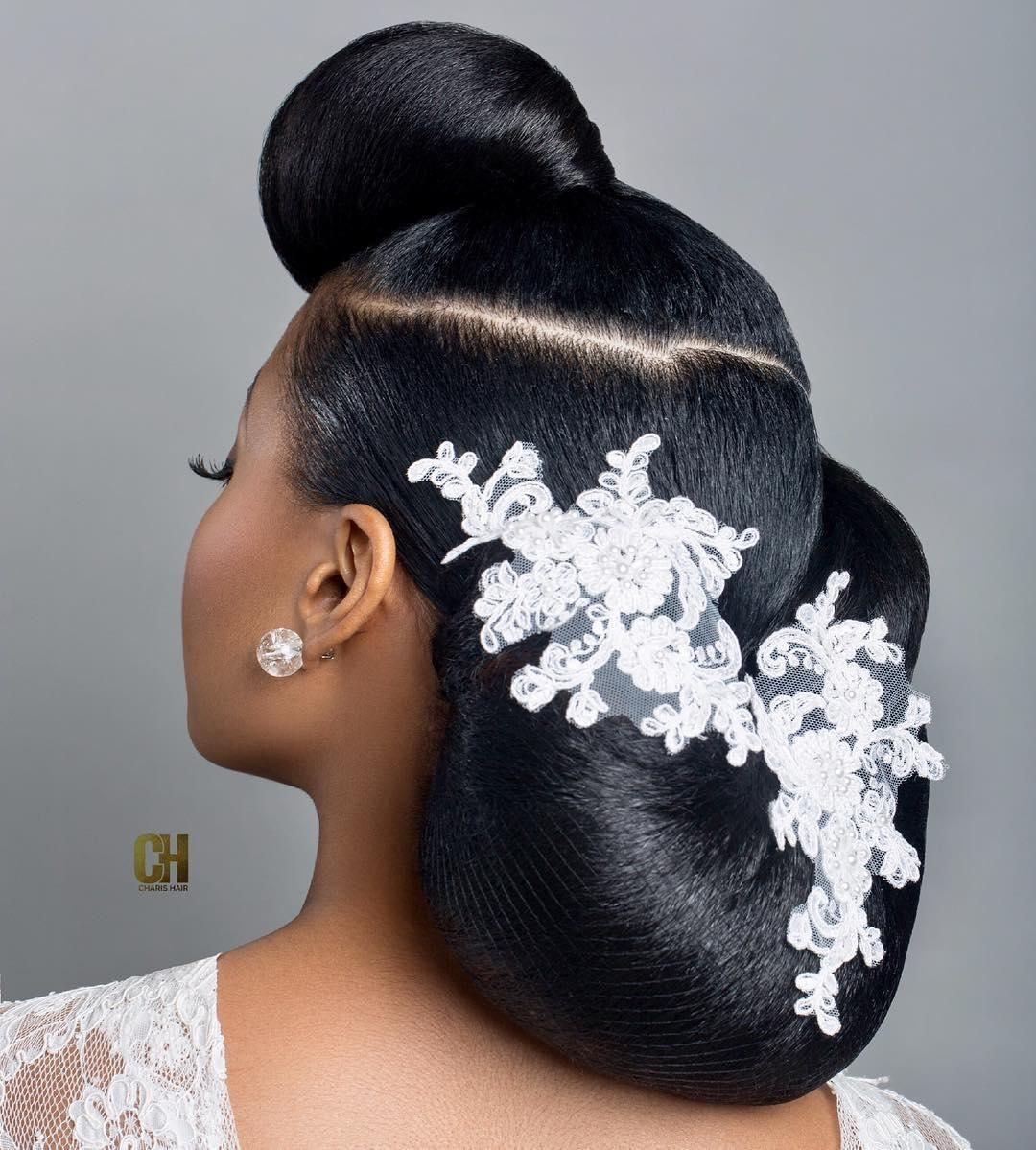 charis hair bridal hair stylist for black and mixed race
