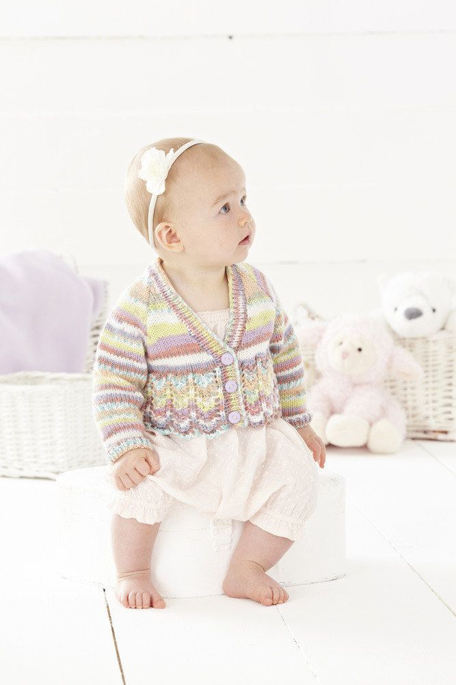 Cardigans in Sirdar Snuggly Baby Crofter DK - 4450 | Baby Knits ...