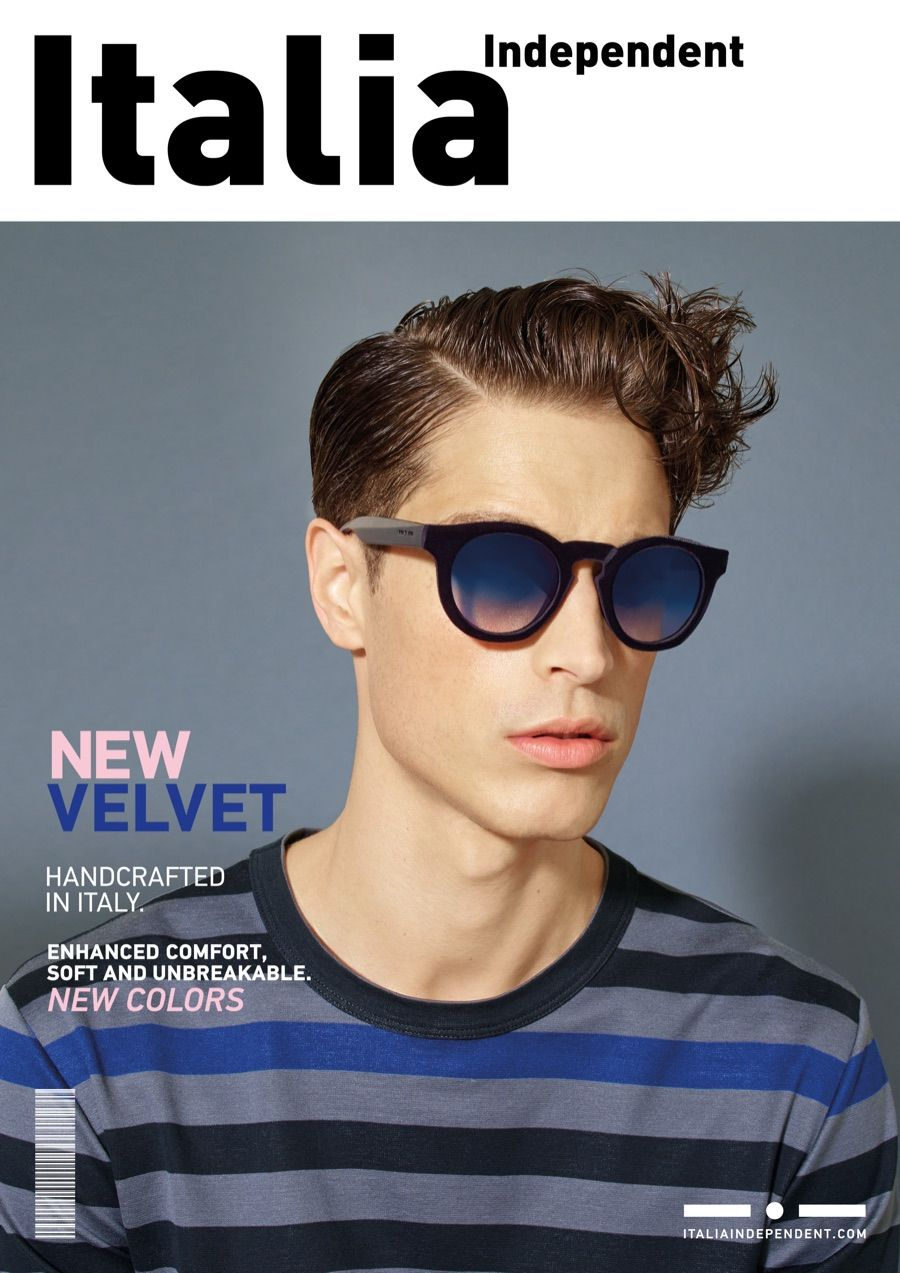 1d5965080bb5 Italia Independent s Eyewear Proves to be Cover Worthy