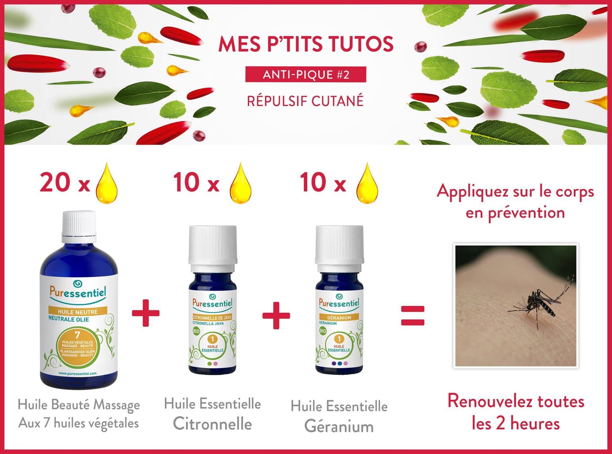 diy repousser les moustiques de mani re 100 naturelle huile essentielle pinterest. Black Bedroom Furniture Sets. Home Design Ideas