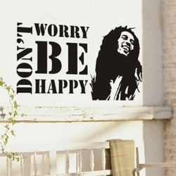 Cheap Wall Stickers Bob Marley Music Wall Decoration Home Quote Sticker Wall  Decor For Children Vinyl Part 75