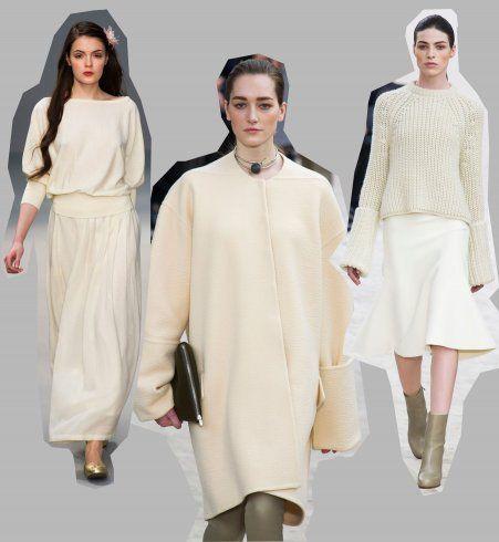Tendances mode automne-hiver 2013-2014 : l'écru