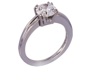 Lazare's Aida Engagement Ring