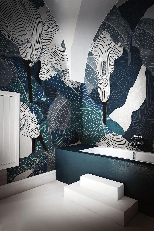 Cloe londonart london wall art wallpaper design