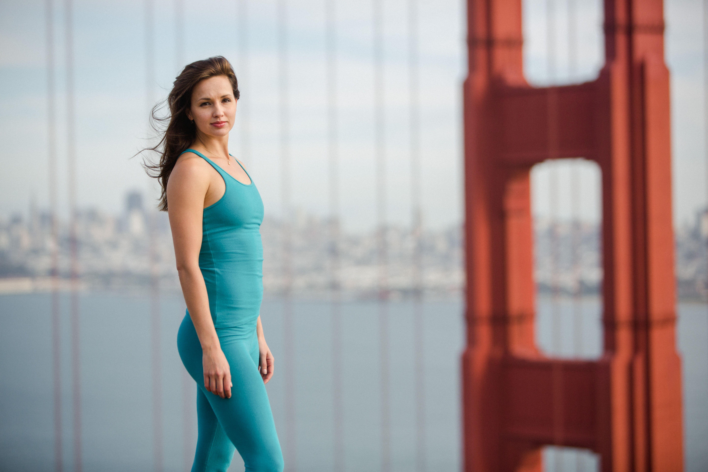 Samantha Klanac Campanile Yoga Sanfrancisco Goldengatebridge Organic Yoga Clothes Yoga Clothes Yoga