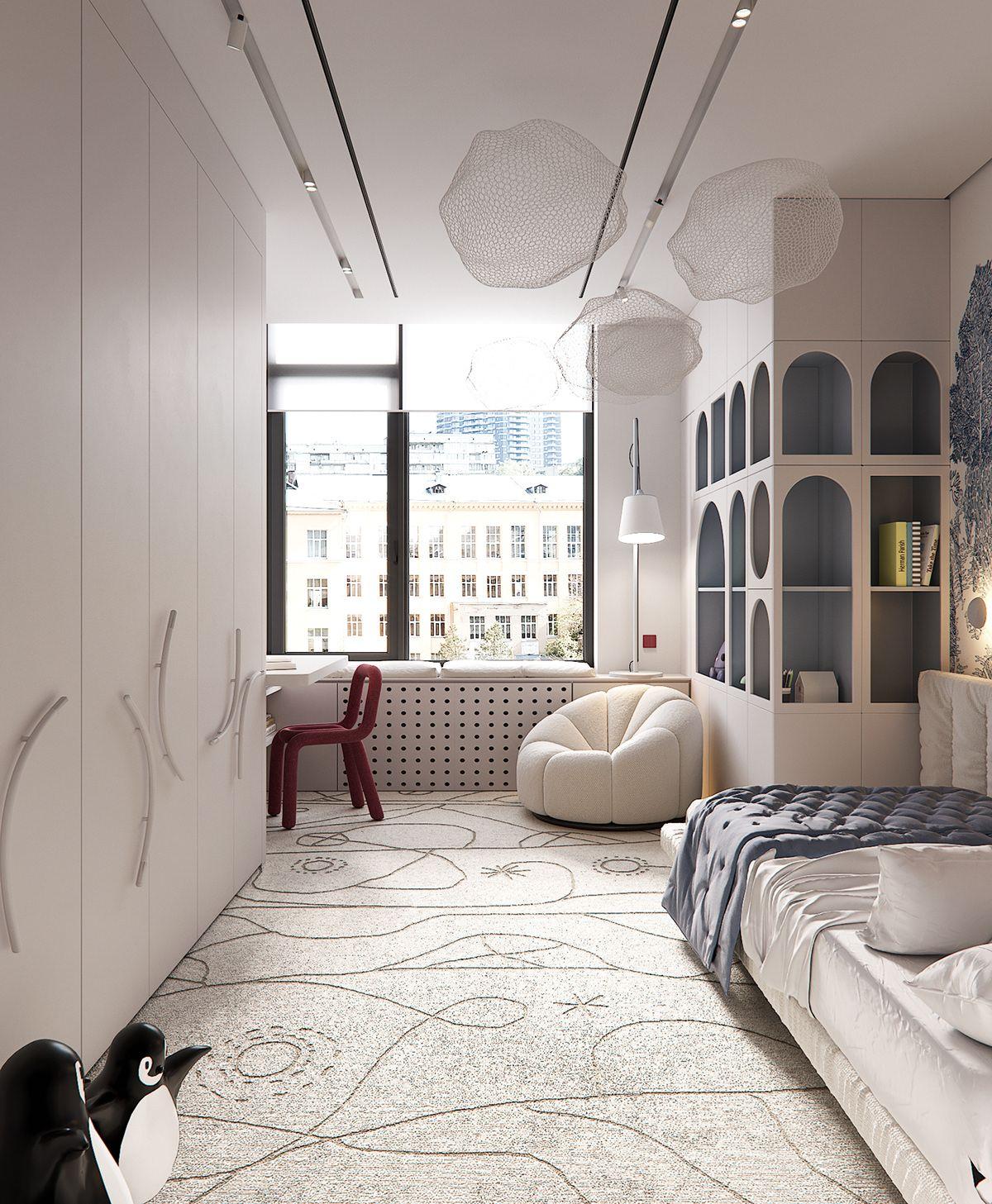 Silence Among The Noise On Behance Kids Interior Room Kids Bedroom Inspiration Luxury Kids Bedroom Interior room design images