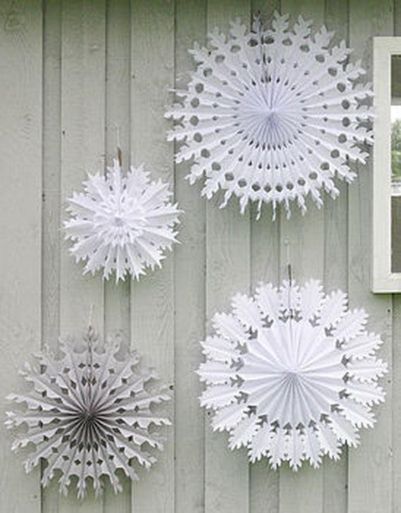 Christmas Handmade Paper Craft Decorations School Stuff