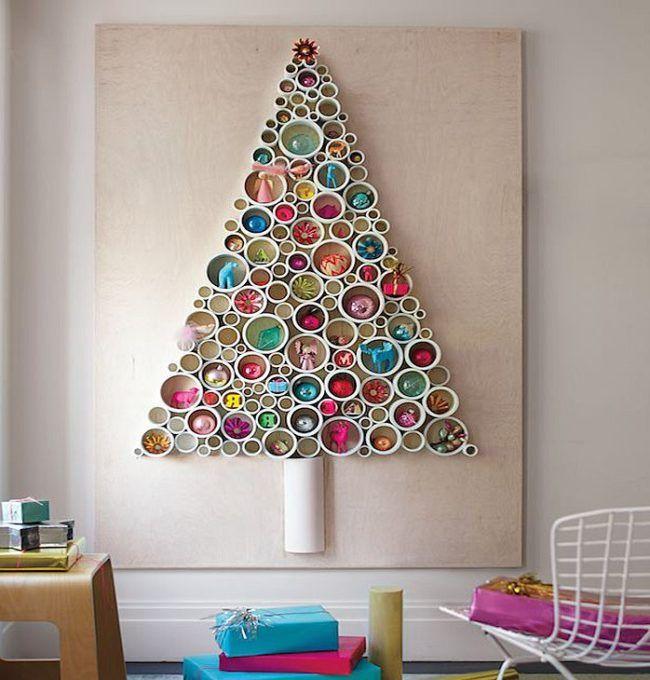 Resultado de imagen para decoracion de navidad arbol de - Decoracion de navidad para oficina ...